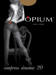 Колготки Opium Compress Dinamic  20 ден	(noisette, 4)