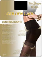Колготки Golden Lady Control Body 40 ден (nero, 3)